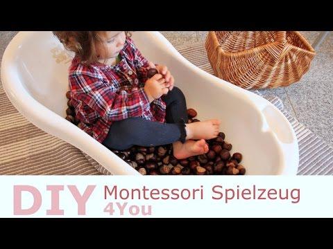 spielideen f r kleinkinder montessori material selber. Black Bedroom Furniture Sets. Home Design Ideas
