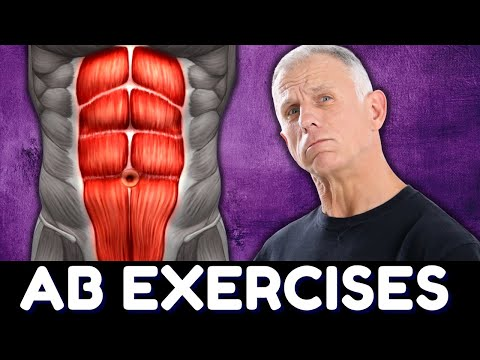 10 Ab Exercises for Beginners + 3 You Should NEVER Do!