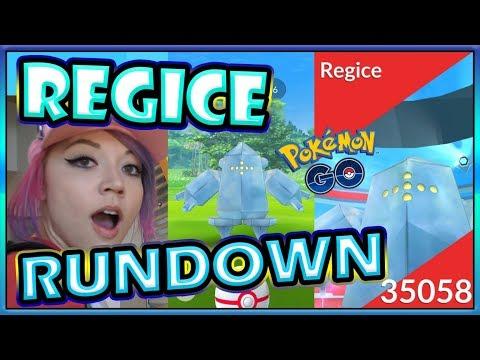 REGICE RUNDOWN IN POKEMON GO! thumbnail