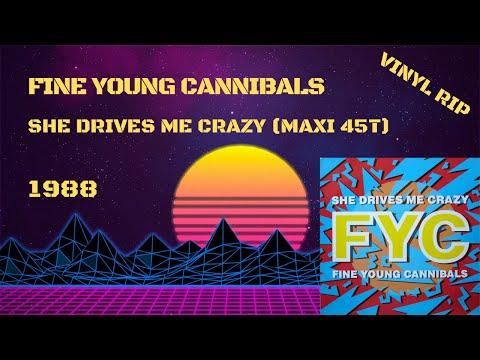 Fine Young Cannibals – She Drives Me Crazy (1988) (Maxi 45T)