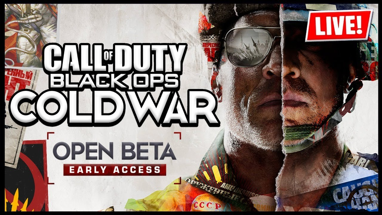 Call Of Duty Black Ops Cold War Open Beta Early Access Live Ps4 Countdown Youtube