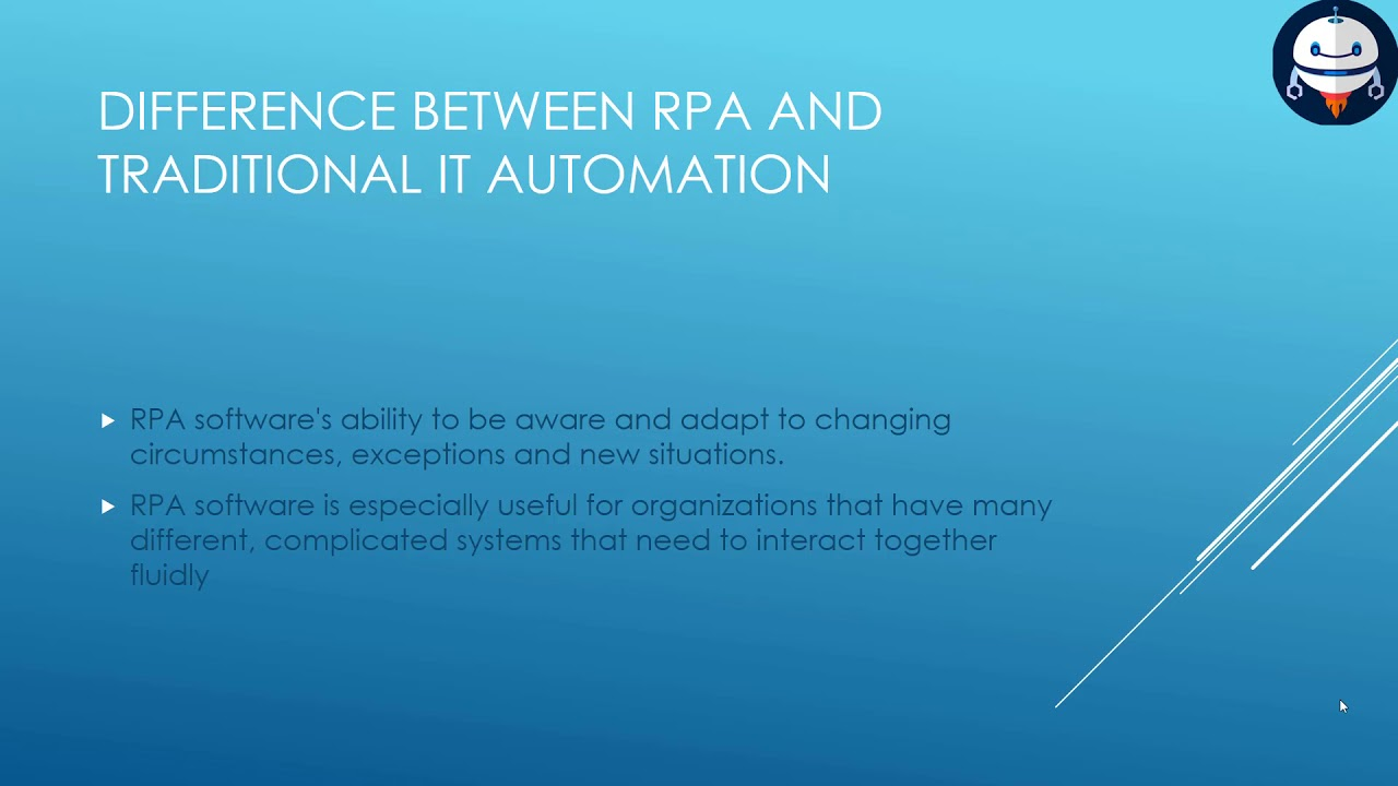RPA - Robotics Process Automation Introduction and Implementation (UIPath,  Blueprism, AA etc )