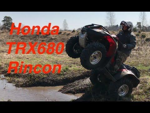 ATV honda rincón TRX680 review