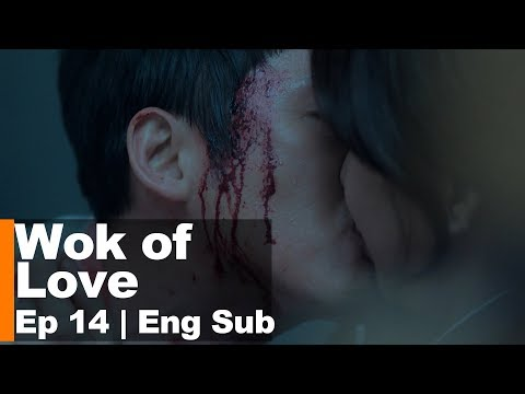 Jang Hyuk Kissed Jung Ryeo Won in Danger [Wok of Love Ep 14]