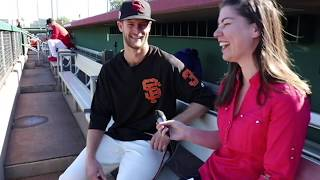 San Francisco Giants Prospect Chase Johnson Interview at Arizona Fall League
