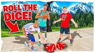 2HYPE Roll The Dice TRICK SHOT Basketball Challenge !!