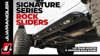 Jeep JL Wrangler Unlimited Rock Sliders - LoD Signature Series Frame Mounted Rocker Guard INSTALL
