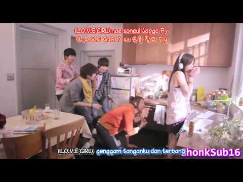 CN BLUE - Love Girl IndoSub (ChonkSub16)