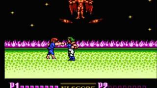 NES - Double Dragon 2 - Mission 9 Final Boss (Final + Ending & Credits)