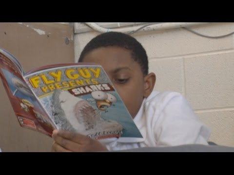 Murphey Traditional Academy is a GCS Reads 30 School of the Month