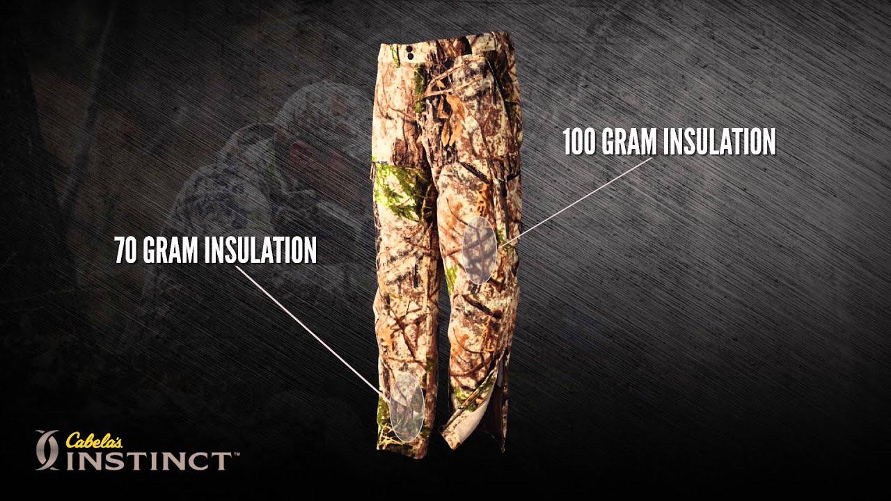 042a411eeb7 Cabela's Instinct™ Reliant Whitetail Cinder Tec™ Pants