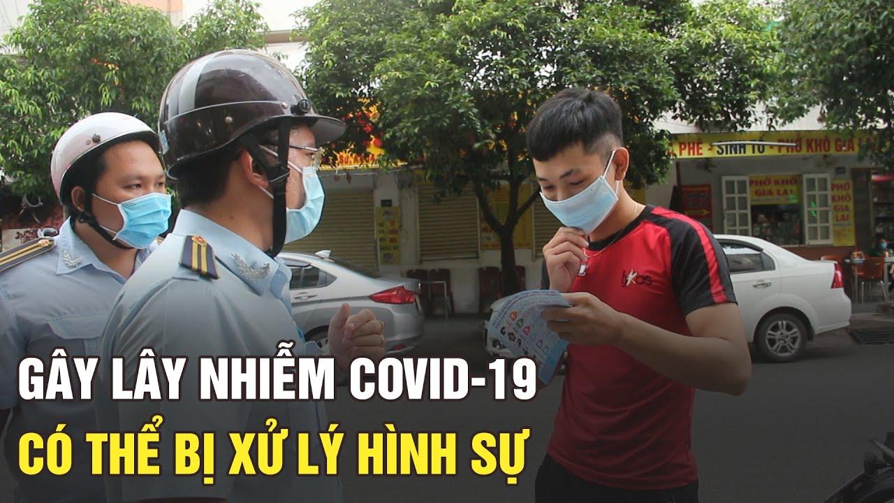 Không đeo khẩu trang làm lây lan Covid-19 có thể bị xử lý hình sự
