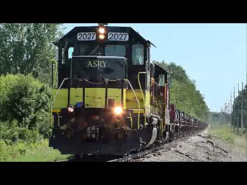 ASRY 2027 loaded steel coil train future CSX K524
