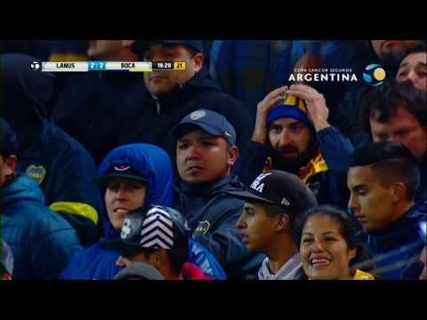 Boca Juniors 2 (4) - (2) 2 Lanús - 8vos de final Copa Argentina 2016
