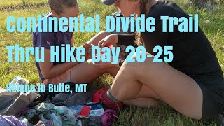 CDT Thru Hike Documentary Day 20-25 Helena-Butte MT SOBO. EP4- Storms, Cows, Backpacking Gear