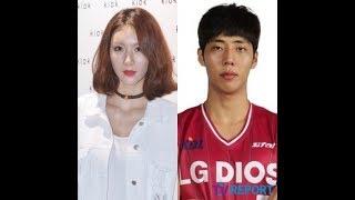 元AFTERSCHOOLの歌手ジョンアが昌原 (チャンウォン) LG SAKERS所属のバ...