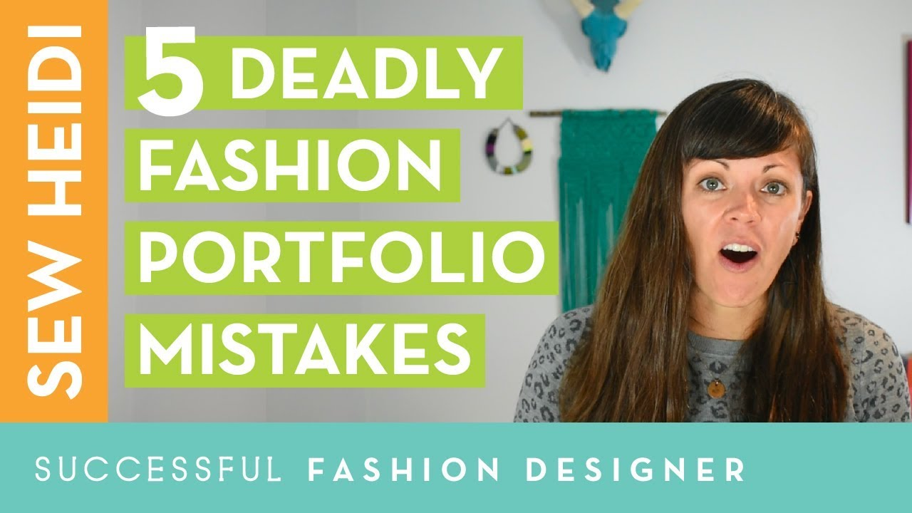 How To Create A Fashion Portfolio That Gets The Job Student Vs Professional Fashion Designer Youtube