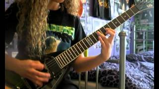 Megadeth - Devils Island - Guitar Cover With Solos