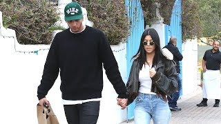 Kourtney Kardashian And Younes Bendjima Grab Lunch In The Wake Of Khloe's Big News