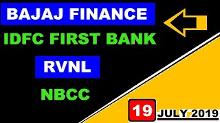 (Bajaj finance) ( IDFC First Bank) (NBCC) (RVNL) share market today's news & update in Hindi by SMkC
