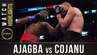 Ajagba vs Cojanu HIGHLIGHTS: March 7, 2020 - PBC on FOX
