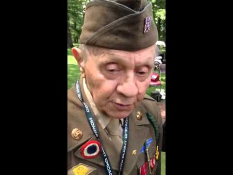First Division D-Day Veteran John Bistrica