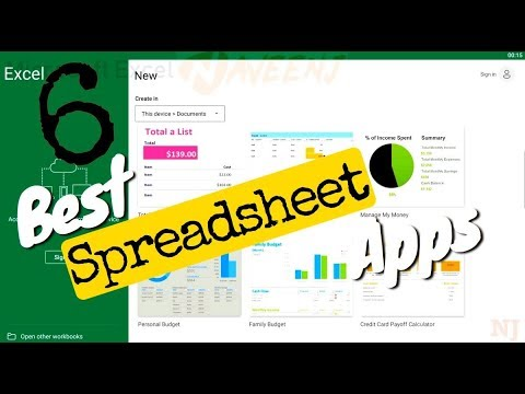 6 Best Spreadsheet Apps [Android/iOS]