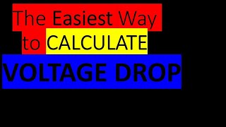 Electrical Calculations the easiest way to Calculate Voltage Drop screenshot 1
