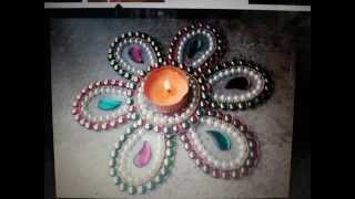 acrylic  rangoli manufacturers