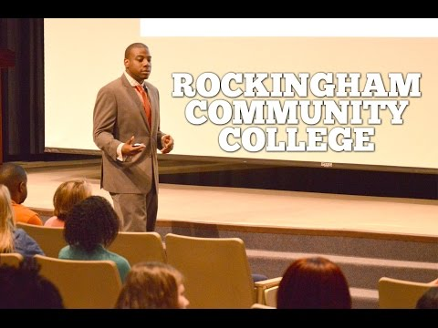 "Rockingham Community College - ""Pursuing Your Dreams with Purpose & Passion"""