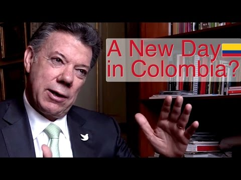 A New Day in Colombia?  Conversation with President Juan Manuel Santos