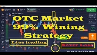 IQ Option OTC market 99% winning strategy -  Binary option strategy 2018