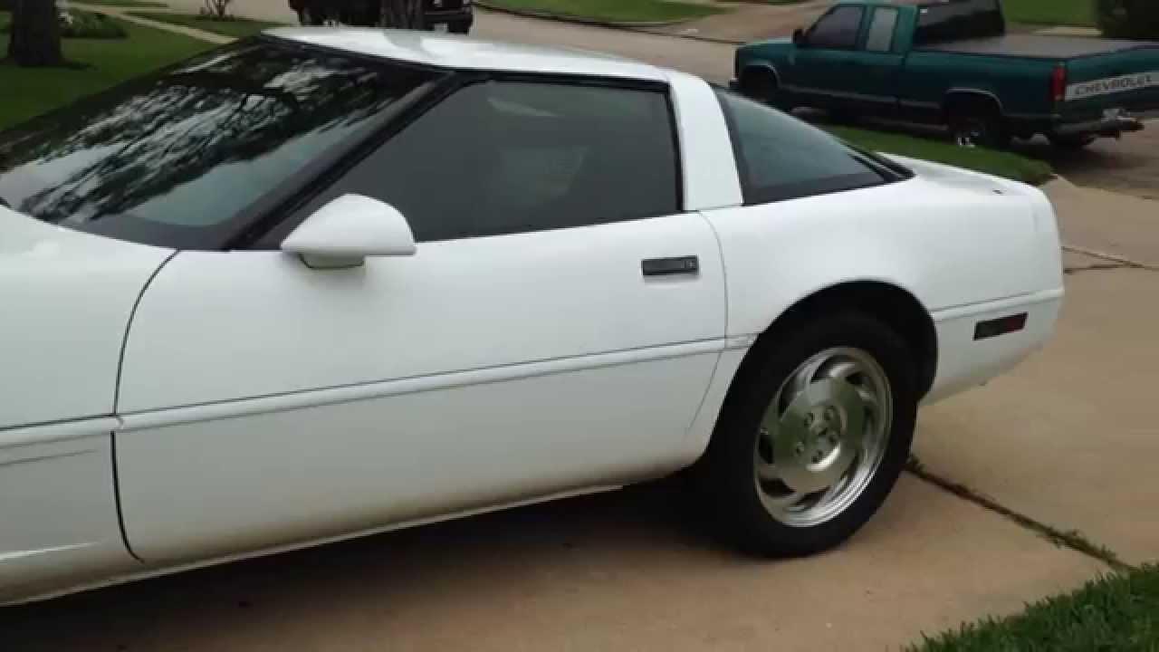 1995 C4 Corvette Restoration Otr Youtube