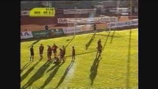 Demba Nyrén dive against Djurgården 2001
