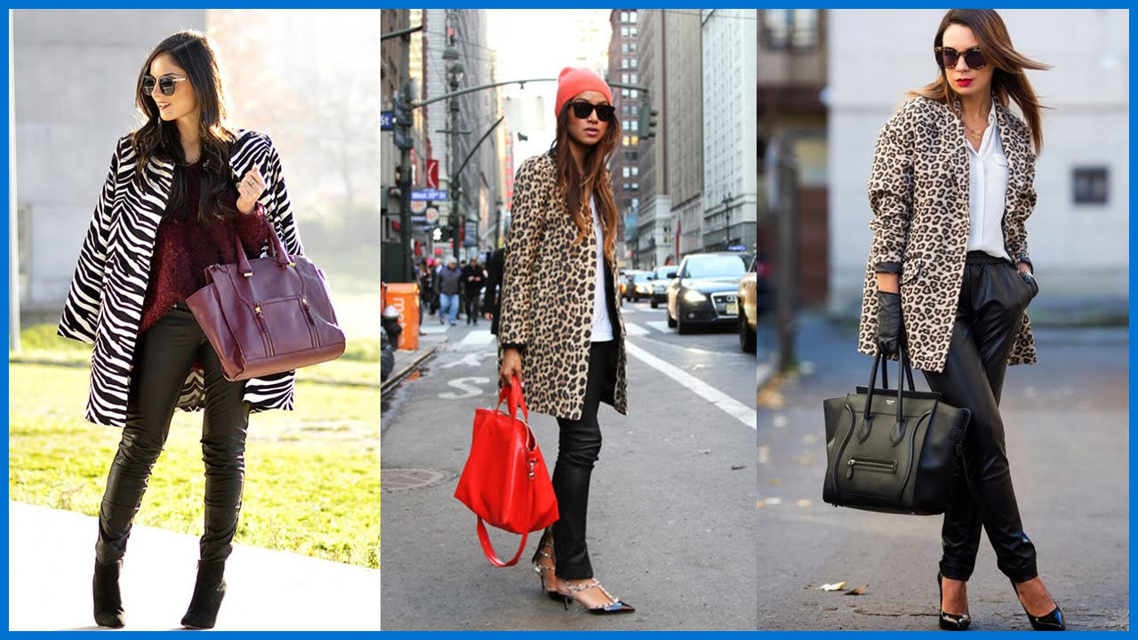 d949a32ba4 How to Wear Animal Print - Outfit Ideas - YouTube