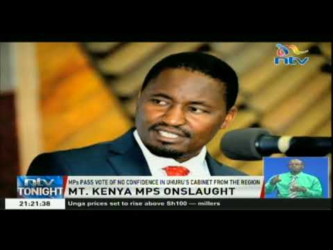 MPs claim Mt. Kenya has been neglected despite voting for Jubilee
