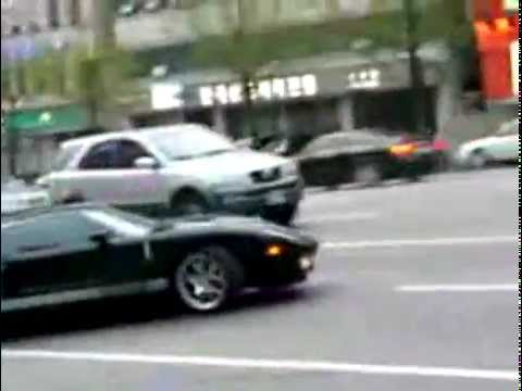LOUDEST FORD GT EVER.. (Ford Racing Exhaust) in Seoul, Korea