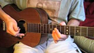 Robert Johnson lesson - Part 1/3 - Kindhearted Woman Blues - TAB available