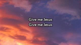 Jeremy Camp - Give me Jesus - Instrumental with lyrics