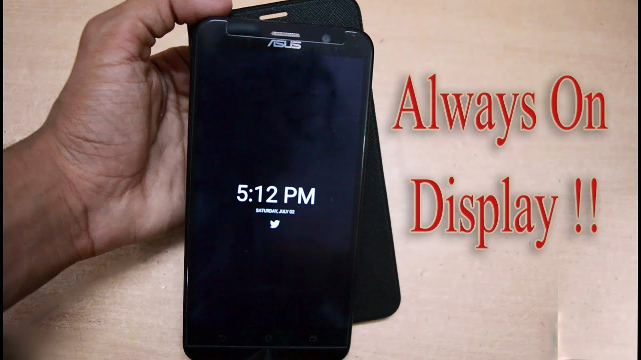 how to enable always on display feature in any android