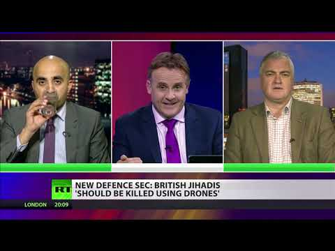 Gavin Williamson says British jihadis 'should be killed using drones' (Debate)