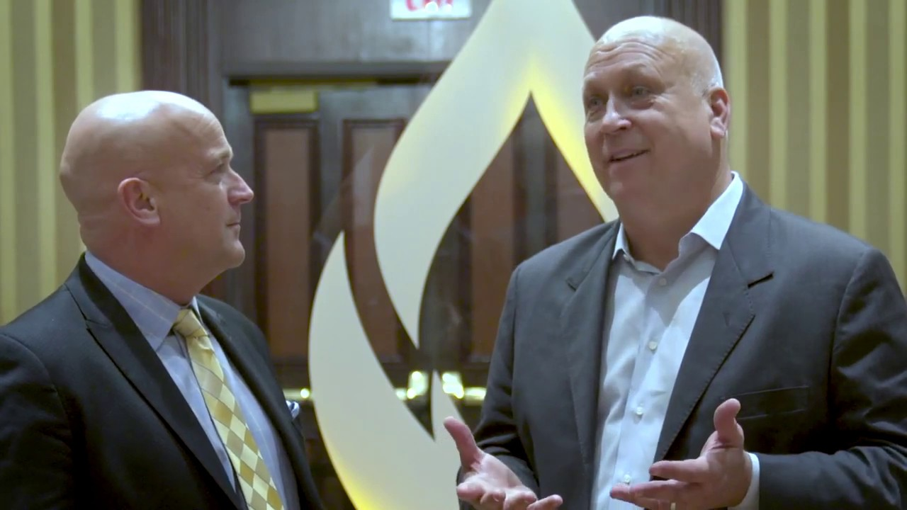 Baseball Legend Cal Ripken, Jr  talks to William E  Morgan, DC at Parker  Seminars Las Vegas 2019