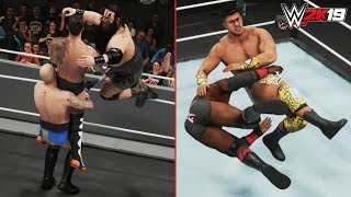 WWE 2K19 ALL NEW DLC MOVES & MORE! 30+ MOVES! (WWE 2K19 Titans DLC Pack Gameplay)