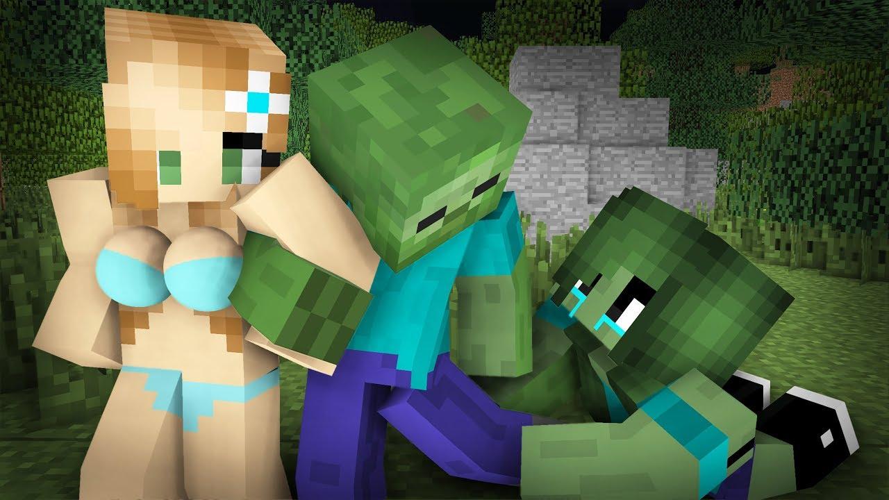 Zombie Sad Life Episode 11- Minecraft Animation