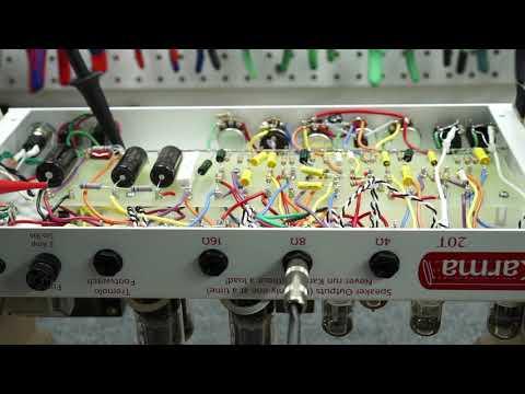 Karma 20T Amp Head - Light Gray Tolex, 120 or 240 volt operation,  ClassicTone transformers