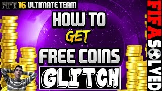 FIFA 16 Ultimate Team Cheats - Free Coins Glitch