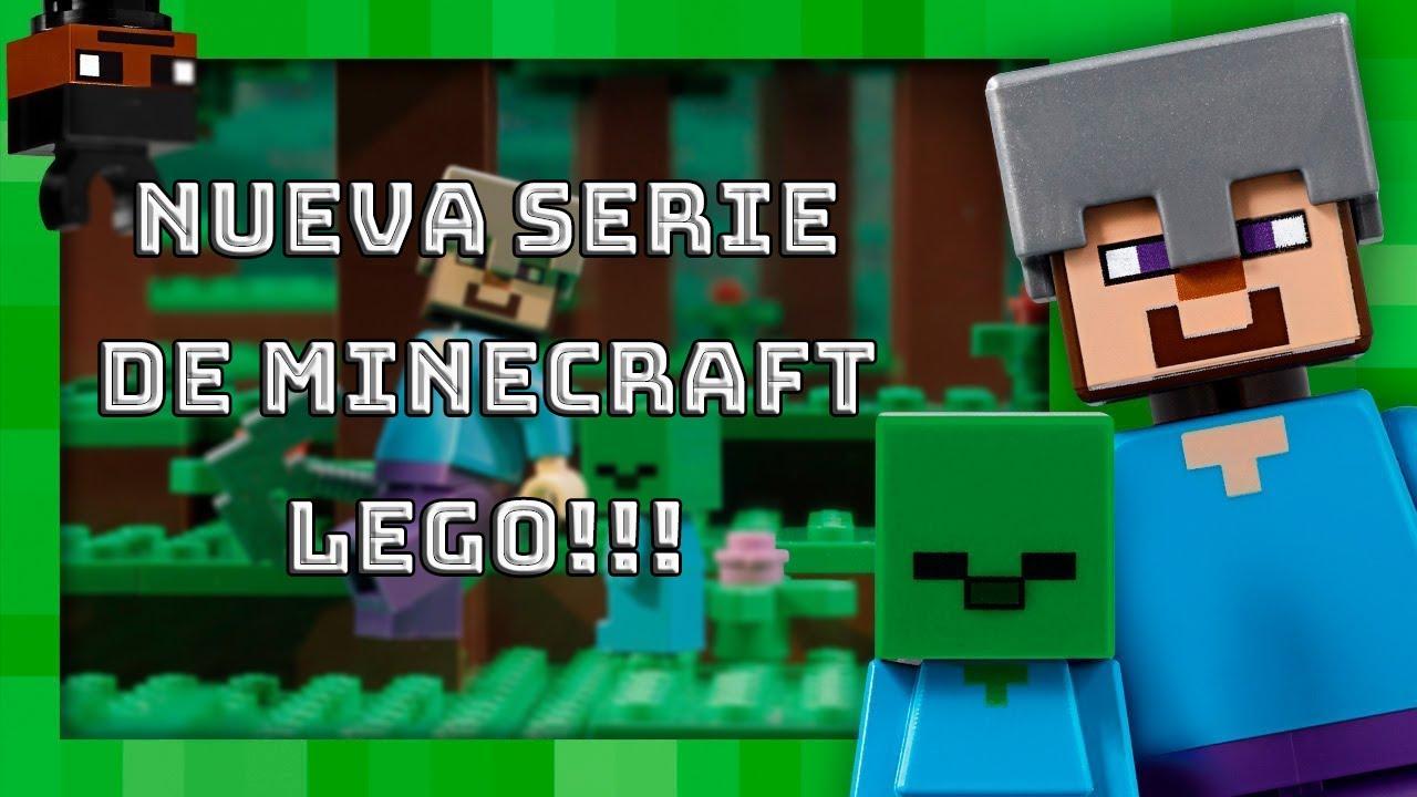 MI NUEVA SERIE DE MINECRAFT - MIS NUEVOS LEGOS (SERIE LEGO DE MINECRAFT)