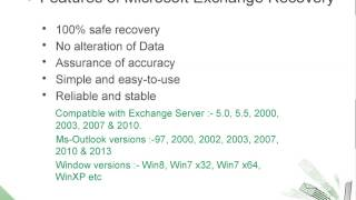 Microsoft Exchange Recovery