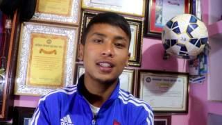 लभ गर्ने होईन युरोपमा खेल्न चहान्छु, नाँचेर ४ पटक खाट भाँचे : Football Player Anjan Bista Interview