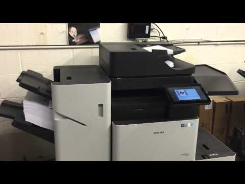 Samsung Printer Copier Million Page Test - Scanning and Printing